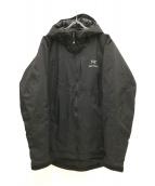 ARCTERYX(アークテリクス)の古着「KAPPA HOODY」|ブラック