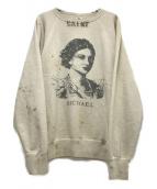 SAINT MICHAEL(セントマイケル)の古着「WEAT SHIRT」|グレー