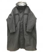 F/CE.(エフシーイー)の古着「オーバーレイヤーコート」|ブラック