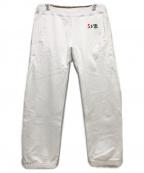 SSZ(エスエスゼット)の古着「スウェットパンツ」|ホワイト