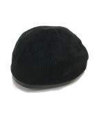 flagstuff(フラグスタフ)の古着「NO BRIM CAP」 ブラック