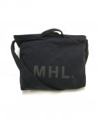 MHL(エムエイチエル)の古着「ショルダートートバッグ」|ネイビー