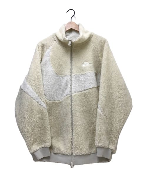 NIKE(ナイキ)NIKE (ナイキ) リバーシブルフリースジャケット ホワイト サイズ:XLの古着・服飾アイテム