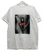 GOD SELECTION XXX(ゴットセレクショントリプルエックス)の古着「Tシャツ」|ホワイト