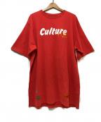 HERON PRESTON()の古着「プリントTシャツ」|レッド