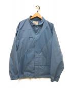 ()の古着「コーチジャケット」|ブルー