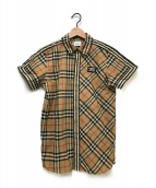 BURBERRY LONDON(バーバリーロンドン)の古着「半袖シャツ」|ベージュ