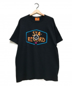 WESTOVERALLS(ウエストオーバーオールズ)の古着「スターウエスト別注Tシャツ」 ブラック