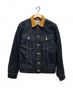 LEE()の古着「ストームライダーデニムジャケット」|インディゴ