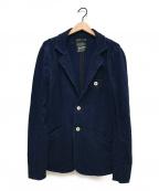 Denham()の古着「藍染めテーラードジャケット」 インディゴ