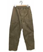 DAIWA PIER39(ダイワ ピアサーティンナイン)の古着「TECH PARACHUTE PANTS」|ベージュ