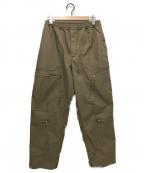 DAIWA PIER39(ダイワ ピアサーティンナイン)の古着「TECH PARACHUTE PANTS」 ベージュ