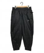 NikeLab(ナイキラボ)の古着「チェックジョガーナイロンパンツ」 ブラック