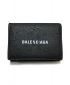 BALENCIAGA(バレンシアガ)の古着「CASH MINI WALLET」 ブラック
