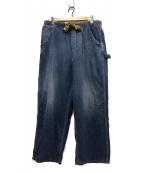 45R(フォーティファイブアール)の古着「デニムイージーペインターパンツ」 インディゴ