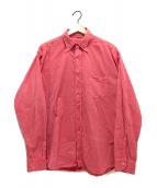 45R(フォーティファイブアール)の古着「オーシャンボタンダウンシャツ」|レッド