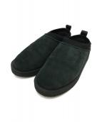 suicoke(スイコック)の古着「ムートンサボ」|ブラック