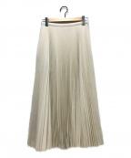 TSURU by MARIKO OIKAWA(ツルバイマリコオイカワ)の古着「プリーツスカート」 ホワイト