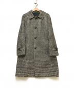 TAGLIATORE(タリアトーレ)の古着「バルカラーウールコート」|ブラウン