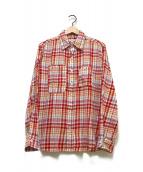 ()の古着「チェックシャツ」|レッド