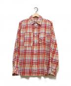 Engineered Garments(エンジニアドガーメンツ)の古着「チェックシャツ」|レッド