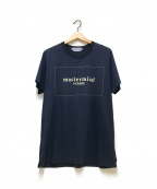 Mastermind HOMME(マスターマインド オム)の古着「ボックスロゴTシャツ」|ネイビー
