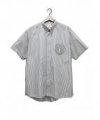 VISVIM(ビズビム)の古着「ストライプシャツ」 ホワイト