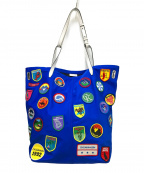 Calvin Klein(カルバンクライン)の古着「トートバッグ」|ブルー