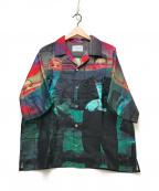 Black Weirdos(ブラック ウィドゥ)の古着「シルクオープンカラーシャツ」|マルチカラー