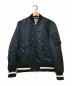 uniform experiment(ユニフォームエクスペリメント)の古着「リバーシブルMA-1ジャケット」|ブラック