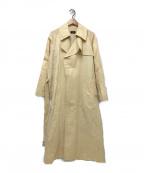YLEVE(イレーヴ)の古着「コットンリネンツイルコート」|ベージュ
