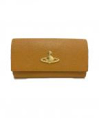Vivienne Westwood(ヴィヴィアンウエストウッド)の古着「長財布」|ベージュ