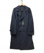 SANYO(サンヨー)の古着「トレンチコート」|ネイビー