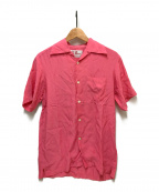 Aloha Blossom(アロハブロッサム)の古着「アロハシャツ」 ピンク
