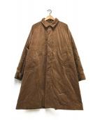 ()の古着「コーデュロイイージーコート」|ブラウン