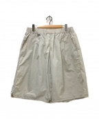 KRIS VAN ASSCHE(クリス ヴァン アッシュ)の古着「ナイロンショートパンツ」 グレー