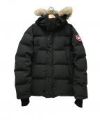 CANADA GOOSE(カナダグース)の古着「WYNDHAM PARKA」|ブラック