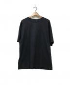 ATON(エイトン)の古着「オーバーサイズTシャツ」 ブラック