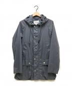 Barbour(バーブァー)の古着「ナイロンフーデットジャケット」|グレー
