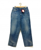 UNFIL(アンフィル)の古着「12oz cotton denim 5pocket wide」|インディゴ