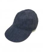 NIGEL CABOURN(ナイジェルケーボン)の古着「メカニックキャップ」 インディゴ