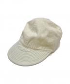 NIGEL CABOURN(ナイジェルケーボン)の古着「メカニックキャップ」 ホワイト