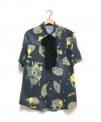 MILK BOY(ミルクボーイ)の古着「ボウタイシャツ」 グレー