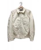 ()の古着「スイングトップ」|アイボリー