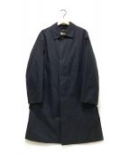 ()の古着「ライナー付ステンカラーコート」|ネイビー