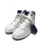()の古着「Court Purple」|ホワイト×パープル