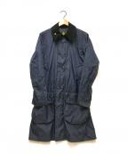 Barbour(バブアー)の古着「ナイロンボーダーSLジャケット」|ネイビー