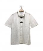 MILK BOY(ミルクボーイ)の古着「SHANGHAI S/Sシャツ」 ホワイト