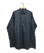 JOHN LAWRENCE SULLIVAN(ジョンローレンスサリバン)の古着「L/Sコットンシャツ」|ネイビー