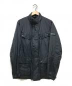 Barbour()の古着「PACKABLE DUKE CASUAL JACKET」|ブラック